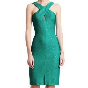 NWT!! St. John Blake Knit Crossover Dress
